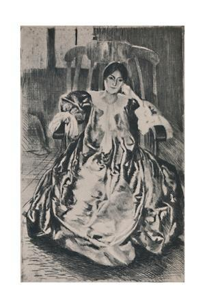'The Silk Dress', 1887, (1946)
