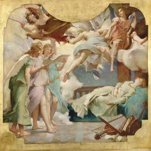 The Dream of St. Cecilia by Paul Baudry