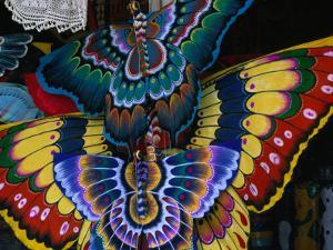 Hand-Crafted Butterfly Kites for Sale, Gianyar, Indonesia by Paul Beinssen