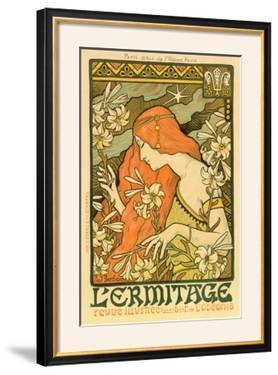 Hermitage Review of Illustration, Paris by Paul Berthon