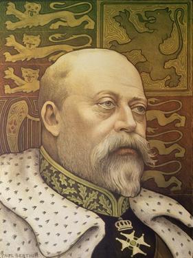 King Edward Vii by Paul Berthon