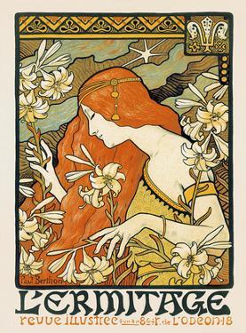 L'ermitage, Art Nouveau, La Belle Époque by Paul Berthon