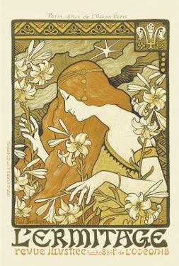 L'Ermitage, Illustrated Magazine by Paul Berthon