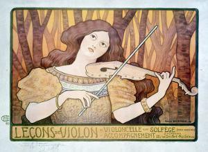Lecons de Violin by Paul Berthon