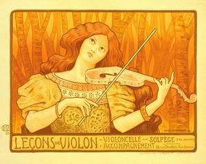 Lecons de Violon by Paul Berthon