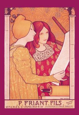 P. Friant Fils by Paul Berthon