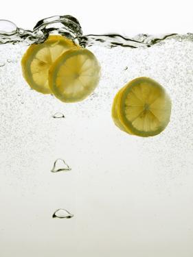 Lemon Slices in Water by Paul Blundell