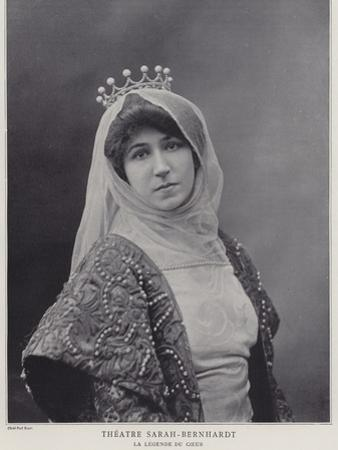 Blanche Dufrene as Alice De Castelnau in La Legende Du Coeur by Paul Boyer