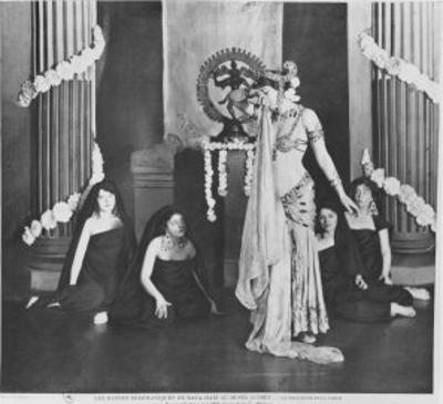 Mata Hari Performing in Musee Guimet, Paris, 13th March 1905 by Paul Boyer