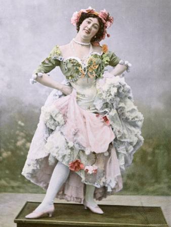 Portrait of 'La Belle Otero' as Mercedes in Une Fete a Seville, Theatre Marigny, Paris, 1900 by Paul Boyer