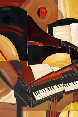 Abstract Piano by Paul Brent