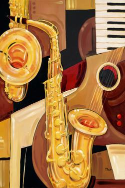 Abstract Sax by Paul Brent