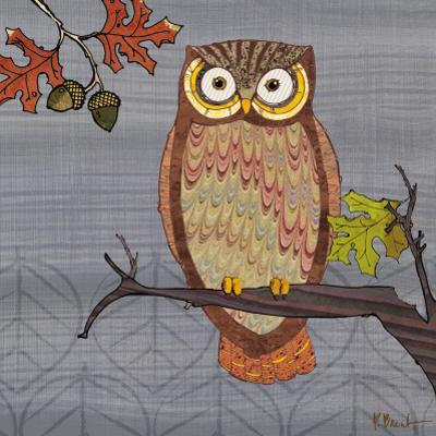 Awesome Owls II by Paul Brent