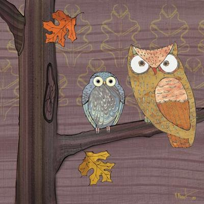 Awesome Owls IV by Paul Brent