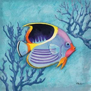 Azure Tropical Fish I by Paul Brent
