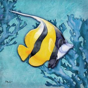 Azure Tropical Fish II by Paul Brent