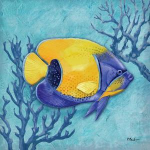 Azure Tropical Fish V by Paul Brent