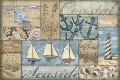 Bateau Bay Collage I by Paul Brent