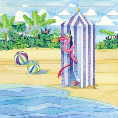 Cabana Flamingo by Paul Brent