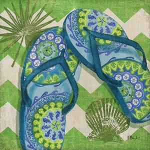 Coastal Flip Flops I by Paul Brent