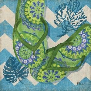Coastal Flip Flops II by Paul Brent