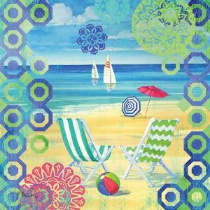 Geo Beach I by Paul Brent
