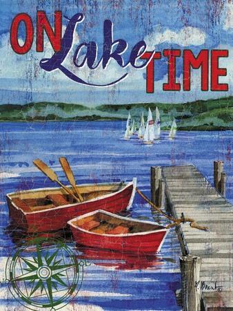 Lake Time Vertical I