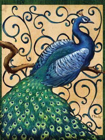 Majestic Peacock I by Paul Brent