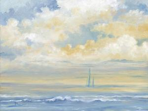 Misty Morning Sail by Paul Brent