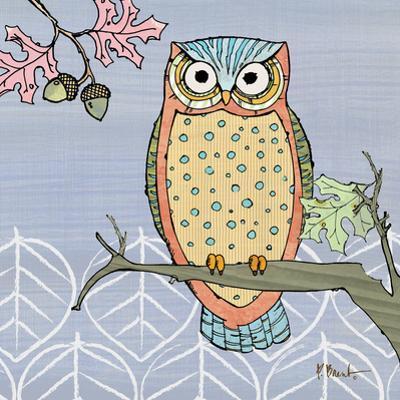 Pastel Owls II by Paul Brent
