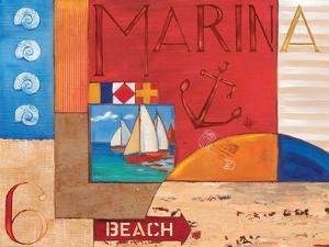 Portofino Collage II by Paul Brent