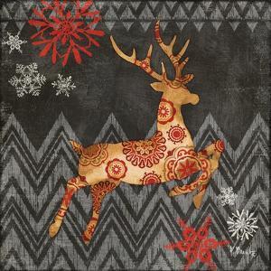 Reindeer Dance I by Paul Brent