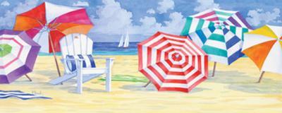 Umbrella Beach by Paul Brent