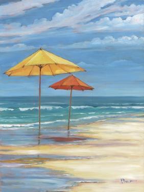 Umbrella Beachscape II by Paul Brent