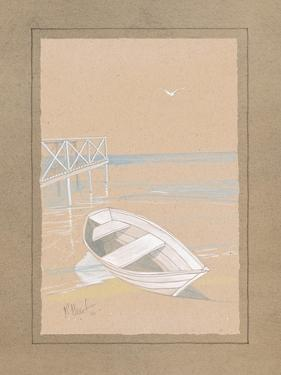 White Dinghy by Paul Brent