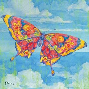 Wild Blue Butterfly by Paul Brent