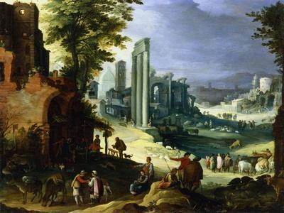 View of Rome, C1574-1626