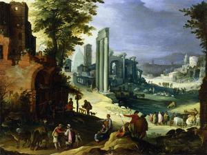 View of Rome, C1574-1626 by Paul Bril