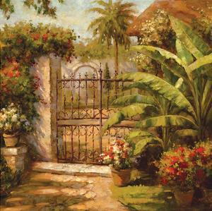 Entrance to the Guesthouse by Paul Burkett