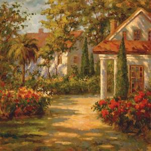 Sunlit Path by Paul Burkett