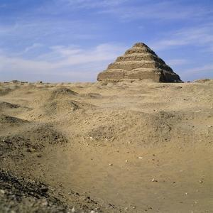 Step Pyramid, Sakkara, Egypt by Paul C. Pet