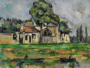 Banks of the Marne, C. 1888 by Paul C?zanne