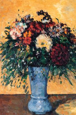 Bouquet of Flowers in a Vase by Paul C?zanne