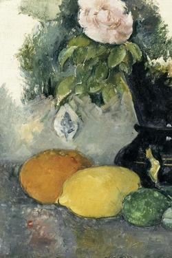 Fleurs et fruits by Paul C?zanne