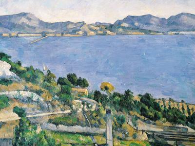L'Estaque, View of the Bay of Marseilles, circa 1878-79