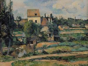 Mill on the Couleuvre at Pontoise, 1881 by Paul C?zanne