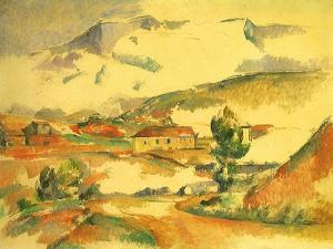 Mont Sainte-Victoire, 1887 by Paul C?zanne