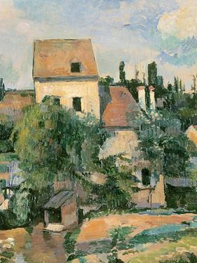 Moulin De La Couleuvre at Pontoise, 1881 by Paul C?zanne