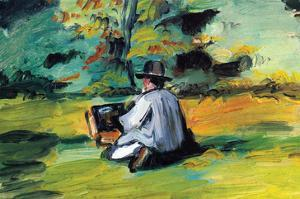 Painter at Work by Paul C?zanne