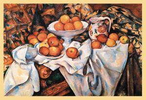Pommes Et Oranges by Paul C?zanne